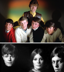 David bowie sixties groups